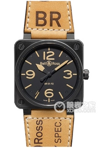 Copiar Bell & Ross BR 01-92 01-92 BR Heritage Series relógio [8dce]