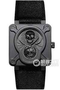 Copy Bell & Ross BR 01 TOURBILLON Series BR 01 TOURBILLON LUFTFARTØJER ure [fc3d]