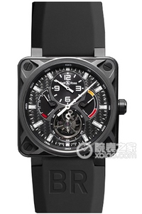Copy Bell & Ross BR 01 TOURBILLON Series BR 01 Tourbillon ure [4b2e]