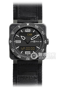 Copy Bell & Ross BR 03 TYPE LUFTFART Serie BR 03 Type Aviation Microblasted Steel ure [048c]