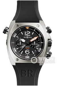 Copy Bell & Ross BR 02-94 CHRONOGRAP HE serien BR 02-94 Steel ure [7245]