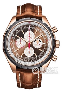 Copy QP Breitling Automatic Chronograph watch (Chrono-Matic QP) Series R29360 ( Pan American bronze dial - alligator strap ) watches [14ef]