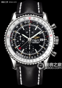 Copy World watches Breitling Aviation (Navitimer World) Series A2432212/C651 (Barenia leather strap ) watches [8ff9]