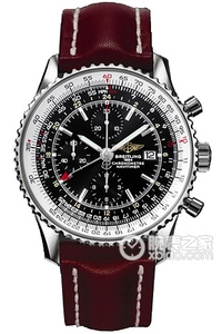 Copy World watches Breitling Aviation (Navitimer World) Series A2432212/B726 (Barenia leather strap ) watches [7ce0]