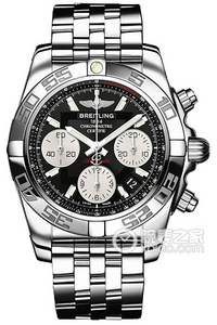Copy 41 Mechanical Chronograph Breitling watches (CHRONOMAT 41) Series AB014012-BA52 (Pilot Pilot steel bracelet ) watches [7aa5]