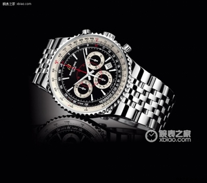 Copy 47 Breitling chronograph watch limited edition Mengbai Lang (Montbrillant 47) Series A2335121 ( water silver dial -Navitimer aviation steel bracelet ) watches [ebd7]