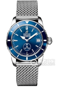 Copy Breitling Super Ocean Culture 38 watches (SUPEROCEAN HÉRITAGE 38) series stainless steel case - Blue Dial -Ocean Classic ocean classic steel bracelet watches [ee0c]