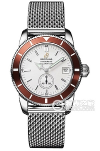 Copy Breitling Super Ocean Culture 38 watches (SUPEROCEAN HÉRITAGE 38) series stainless steel case - Silver dial -Ocean Classic clouds ocean classic steel bracelet watches [433a]