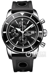 Copy Breitling Super Ocean Chronograph Culture (SUPEROCEAN HÉRITAGE CHRONOGRAPHE) series stainless steel case - metallic brown dial -Ocean Racer rubber strap watch ocean race [0eac]