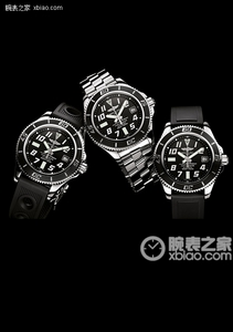 Copy Breitling Super Ocean 42 watch (Superocean 42) series stainless steel case - crimson black dial - Professional stainless steel bracelet watches [fe88]