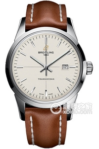 Copy Breitling Transocean watch (TRANSOCEAN) Series A1036012-G721 (Barenia leather strap ) watches [040d]