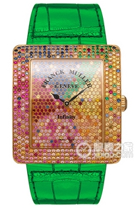 Copy Franck 4 SAISONS series 3740 QZ 4 SAI D CD green strap watches [5722]