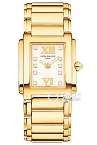 Copy Patek Philippe 4907 /1 series 4907/1J-001 gold watch white plate [ada5]