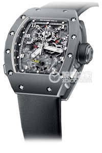 Copy Richard Miller RM 004-V2 ALL GRAY platinum wristwatches [7ec9]