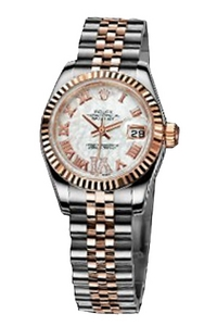 Copy Ladies Rolex Datejust 179171 White Mother of Pearl disc series watches [6c89]