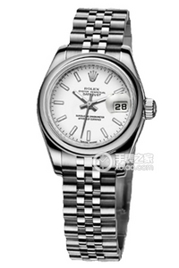 Copy Ladies Rolex Datejust watches Series 179160 white plate [ac64]