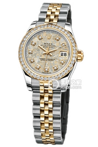 Copy Rolex Datejust Ladies Series 179383 Jinjing Zhen pearl watches [1ced]
