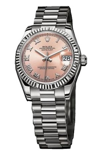 Copy Ladies Rolex Datejust 31 mm Series 178279 Pink Dial Watches [b377]