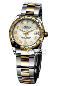 Copy Ladies Rolex Datejust 31 mm Series 178343 white plate diamond watches [f186]
