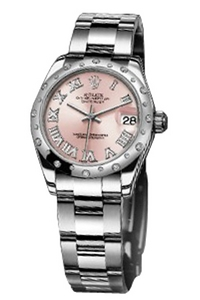 Copy Ladies Rolex Datejust 31 mm Series 178344 pink diamond watches [14a4]