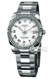 Copy Ladies Rolex Datejust 115.234 hvid plade speciel model serie ure [eb33]