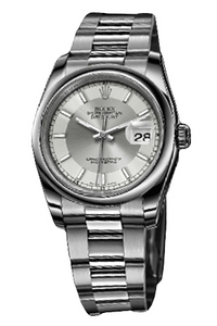 Copy Rolex Datejust Series 116200 Silver - Oyster bracelet watches [b7e7]