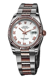 Copiar Rolex Datejust Assista Series 116231 placa branca [5241]