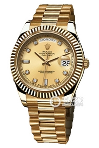 Copy Rolex Day - Date II Series 218 238 gouden plaat horloges [a4e0]