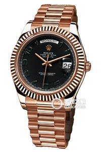 Copy Rolex Day - Date II Horloges Series 218 235 zwarte plaat [2874]