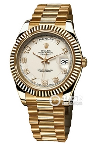 Copy Rolex Day - Date II Horloges Series 218 238 ivoren plaat [8f71]