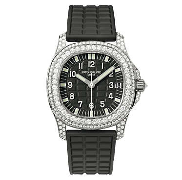 5069G - 001 - White Gold - Ladies Aquanaut [b4d0]