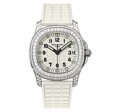 5069G - 011 - White Gold - Ladies Aquanaut [b5f7]
