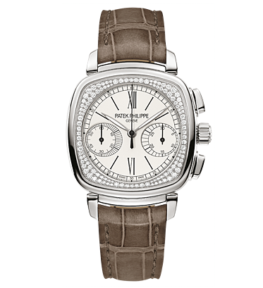 7071G - 001 - White Gold - Ladies Komplikationer [c68e]