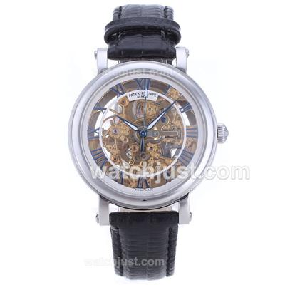 Patek Philippe Classic Automatic with Skeleton Dial-Roman Markers [5be7]