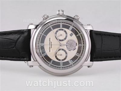 Patek Philippe Classic Working Chronograph with Black Dial [c95e]
