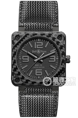 Copy Bell & Ross BR 01-92 BR 01-92 CARBON FIBER PHANTOM series watches [76d3]