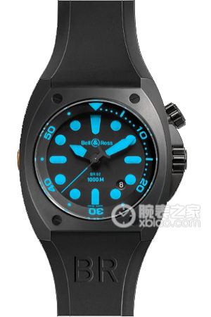 Copy Bell & Ross BR 02-92 BR 02-92 BLUE ur serie [2325]