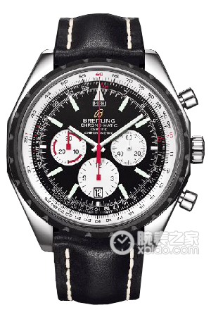 Copy 49 Automatic Chronograph Breitling watch (CHRONO-MATIC 49) Series A14360 (Barenia leather strap ) watches [ef32]