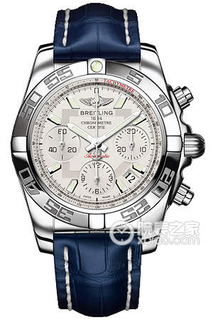 Copy 41 Mechanical Chronograph Breitling watches (CHRONOMAT 41) Series AB014012-G711-718P ( alligator strap ) watches [e778]