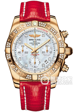 Copy 41 Mechanical Chronograph Breitling watches (CHRONOMAT 41) Series HB0140AA-A723 ( lizard leather strap ) watches [c5c5]