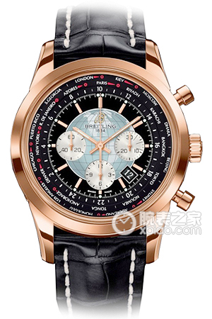 Copy Breitling Transocean Chronograph World Time (Transocean Chronograph Unitime) Series RB0510U4/BB63/760P/R20BA.1 watches [7447]