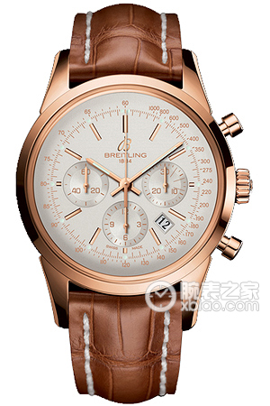 Copy Breitling Transocean Chronograph (TRANSOCEAN CHRONOGRAPH) Series RB015212/G738 ( crocodile leather strap ) watches [1d83]