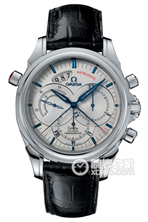 Copy Watch 4847.30.31 Omega coaxial CHRONOSCOPE series [32a4]