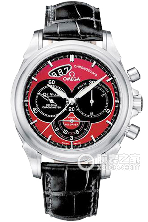 Copy Watch 4851.61.31 Omega coaxial CHRONOSCOPE series [a132]