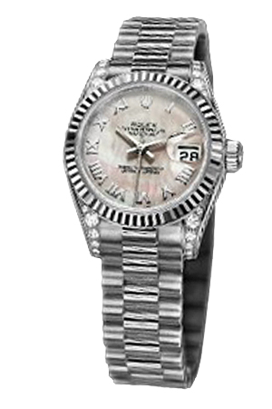 Copy Ladies Rolex Datejust 179239 Pink Mother of Pearl disc series watches [192d]