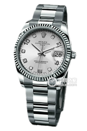 Copy Ladies Rolex Datejust Special Model Series 115 234 silver diamond-studded watches [fd15]