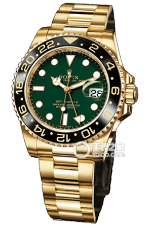 Copy Doses labor Greenwich green disc type II series 116718LN watches [c669]
