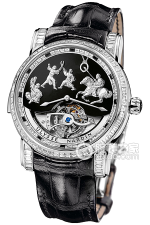 Copy Genghis Khan asked Ulysse-nardin four hammer three diamond watch watch series 780-81 [d617]